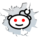 Inside, Reddit, Texto Icon