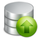 Database, Upload Icon