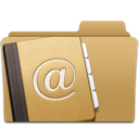 Address, Contacts, Folder Icon
