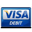 Debit, Visa Icon