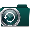 Backup, Folder, Machine, Time Icon