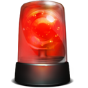 Alarm, Red, Robbery, Siren, Warning Icon