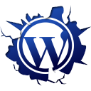 Inside, Texto, Wordpress Icon