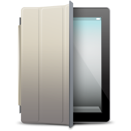 Beige, Black, Cover, Ipad Icon