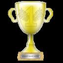 Gold, Trophy, Winner Icon