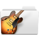 Band, Bass, Folder, Garage, Garageband, Guitar, Jazz, Music, Musicworld Icon