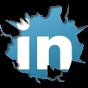 Inside, Linkedin, Texto Icon