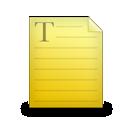 Textfile Icon