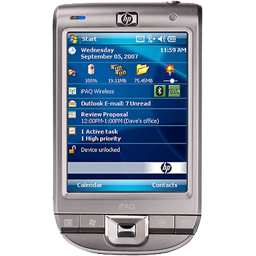 Cell, Hp, Ipaq, Mobile, Phone, Windows Icon