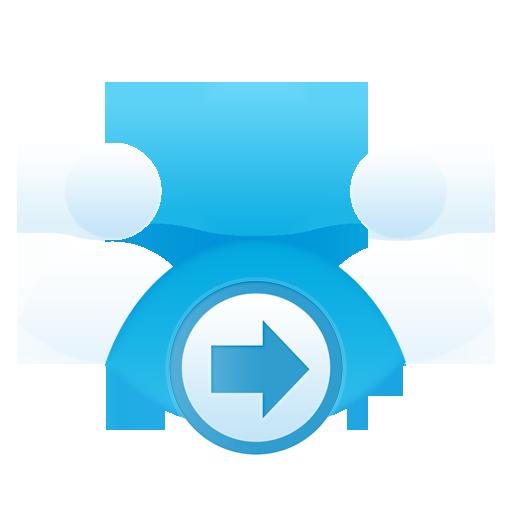 Community, Group, Send Icon