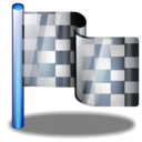 Checkered, Flag Icon