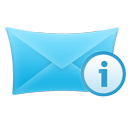 Info, Mail Icon