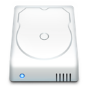 Disk, Drive, Hard Icon