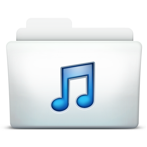 Folder, Itunes, Music Icon