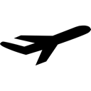 Plane, Transportation Icon