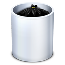 Bin, Dock, Full, Garbage, Recycle, Trash Icon