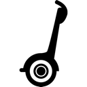 Segway, Transportation Icon