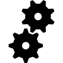 Execute, Gears, Settings, Utilities Icon