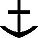 Anchor, Harbor, Ship Icon