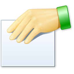 Hand, Properties, Share Icon