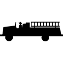 Fire, Firetruck Icon