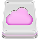 Cloud, Disk, Drive, Mobileme Icon
