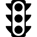 Light, Lights, Stop, Traffic Icon