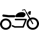 Motorcycle, Vehicle Icon