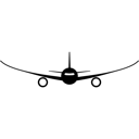 Aircraft, Airliner, Airplane, Aviation, Plane, Tourism Icon