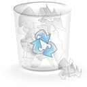 Alt, Full, Trashcan Icon