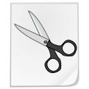 Cut, File, Scissors Icon