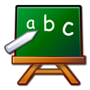 Abc, Chalkboard, Edutainment, Learn, Package, School Icon