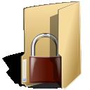 Folder, Locked, Security Icon
