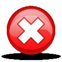 Cancel, Stop, Warning Icon