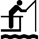 Fisherman, Fishing, Phishing Icon