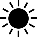 Summer, Sun, Weather Icon