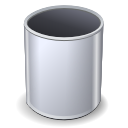 Bin, Empty, Recycle, Trashcan Icon