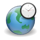 Clock, Earth, Globe, Internet, World Icon