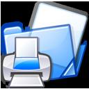 Documents, Folder, Print Icon