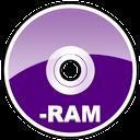 Dvd, Ram Icon
