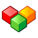 Boxes, Colors, Cool, Modules Icon