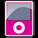 3g, Ipod, Nano, Pink Icon