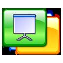 Presentation, Slides Icon