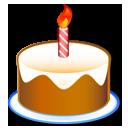Birthday, Cake, Party Icon