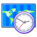 Clock, Time, World, Zone Icon
