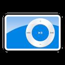 2g, Blue, Ipod, Shuffle Icon