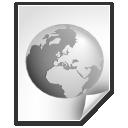 Document, Earth, Internet, World Icon