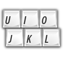 Keyboard, Keys Icon