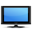 Flat, Hdtv, Lcd, Screen, Television, Tv Icon