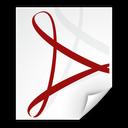 Adobe, File, Pdf Icon